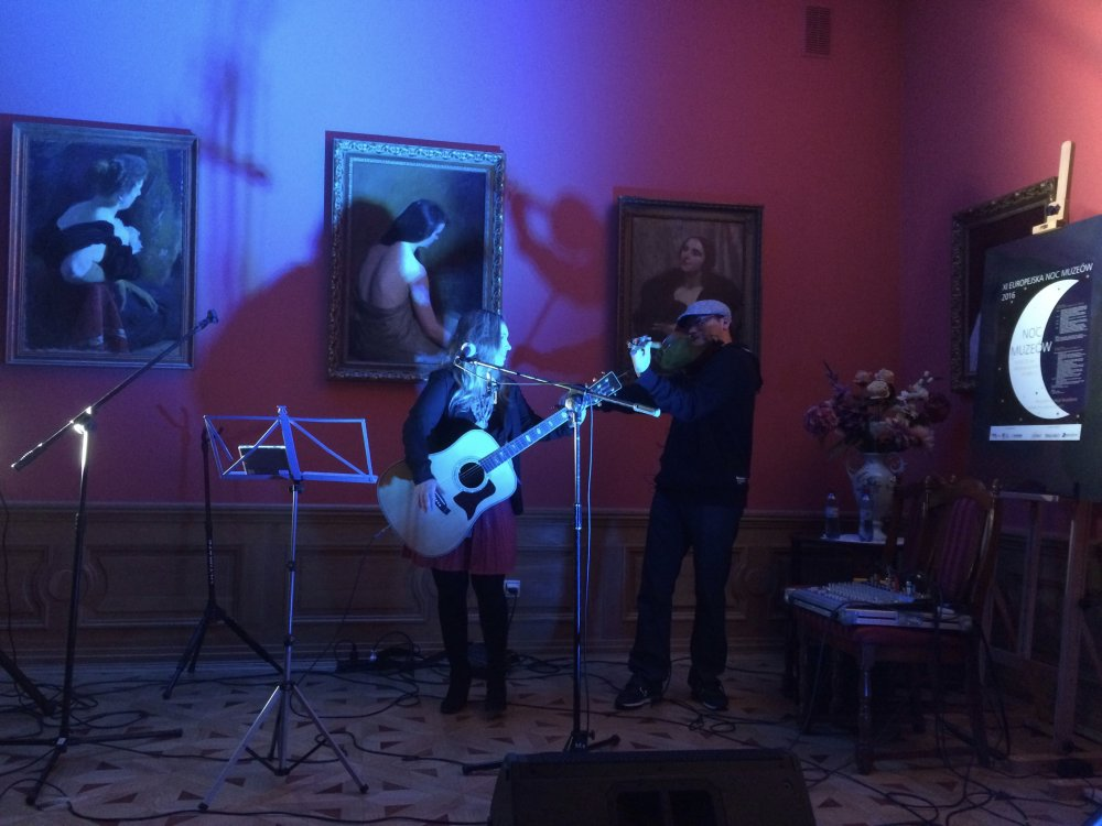 European Museum Night, Park i Museum Oborskich, Mielec, V2016 -